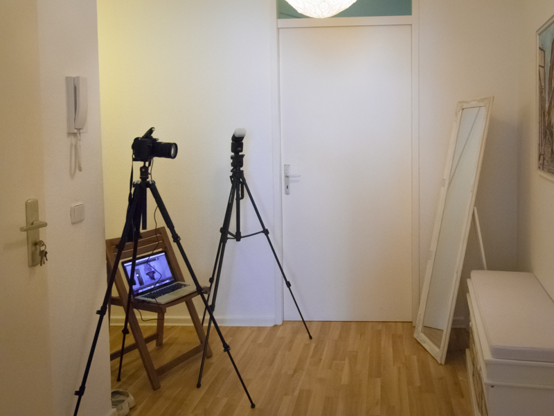 unsere photo booth das technische setup adina traut sich. Black Bedroom Furniture Sets. Home Design Ideas