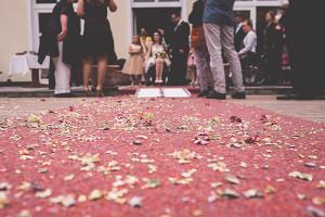Bild mit gestreuten Blüten im Vordergrund - Foto: http://andiweiland.de/
